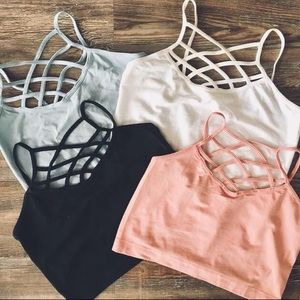 ONE SIZE BRALETTES